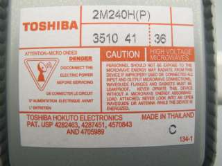 2M240H Toshiba Magnetron For Microwave Oven, Universal Fits Many