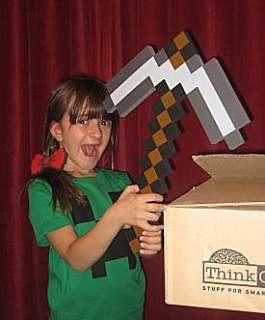 ThinkGeek :: Minecraft Foam Pickaxe