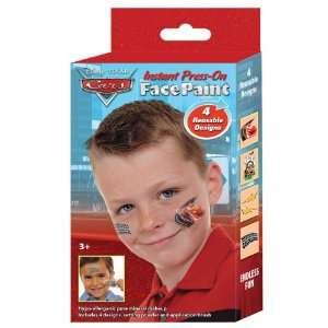 Fan Stamp Disney Cars Press on Face and Body Paint Kit