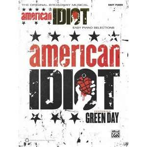 Green Day    American Idiot, the Musical Easy Piano