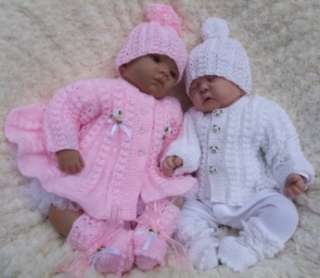 Easy Crochet Baby Afghan Free Patterns : Premature Baby Reborn Doll Annabell Crochet Pattern 85