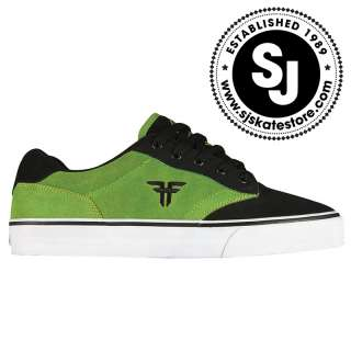 FALLEN, SLASH MENS SKATE SHOES, BLACK/SLIME VARIOUS SIZES, BNIB