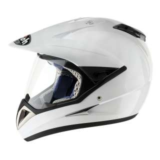 AIROH S4 MOTOCROSS ENDURO MOTO X HELMET WHITE MEDIUM