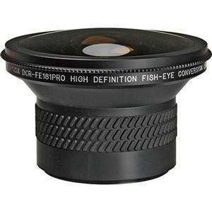 Raynox DCR FE 181 Pro, High Definition 180 Degree Fish Eye Conversion