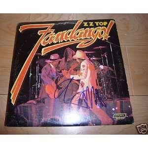 BILLY GIBBONS signed *ZZ TOP* FANDANGO Record LP W/COA