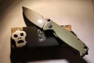 DPX Hest 2.0 Folder Pocket Knife Black German D2 Steel G10 Handle