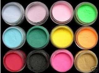 decorar las uñas de manos y pies 12 diferentes colores para decorar