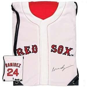 Manny Ramirez Boston Red Sox Home Jersey Back Sack: Toys