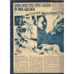 Snow Over the Cote Dazur: Paul Gallico: Books