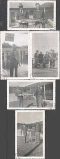 Vintage Photos Florida Sports Fishing Men w/ Tuna Fish Catch 1955