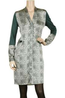 Clemens en August Printed silk dress   75% Off Now at THE OUTNET