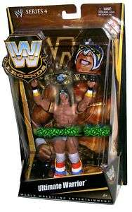 WWE WWF WRESTLING LEGENDS SERIES 4 ULTIMATE WARRIOR