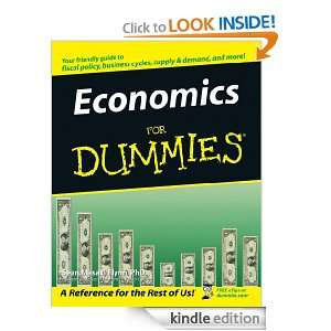 Economics For Dummies: Sean Masaki Flynn:  Kindle Store