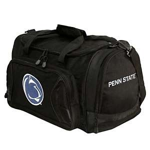 NCAA Black Duffel Bag   Penn State Nittany Lions