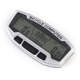 US$ 13.49   LCD Bicycle Bike Computer Odometer Speedometer, Free