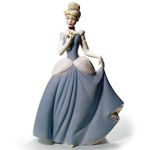 Nao Cinderella Porcelain Figure Handmade by Lladro at HSN