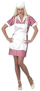 Candy Striper Nurse Costume   Adult Nurse Costumes