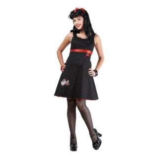 Halloween Costumes Hello Kitty Rockabilly Kitty Teen Costume