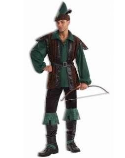 Mens Classic Robin Hood Costume  Wholesale Renaissance Halloween