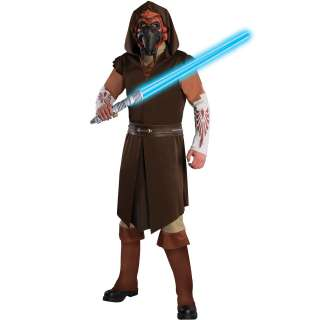 Star Wars Clone Wars Deluxe Plo Koon Adult Costume   Includes Tunic