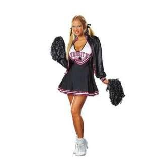 Adult Sexy Varsity Cheerleader Costume   Cheerleader Costumes