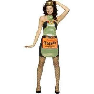 Top Shelf Tequila Dress Adult Costume   Includes Dress, Hat/Headband