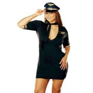 Mile High Captain Plus Adult Costume     1617442
