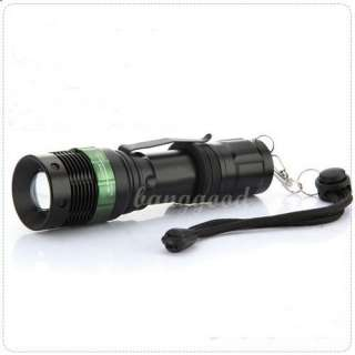 Zoom Ajustable Focus Super Bright Q5 CREE LED Bulb Flashlight Torch 3