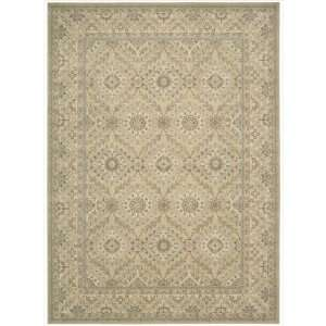 PE24 Rectangle Rug, 2 Feet by 2.9 Feet, Light Gold: Home & Kitchen