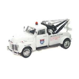 1953 Chevy Tow Truck 1/24 White Toys & Games