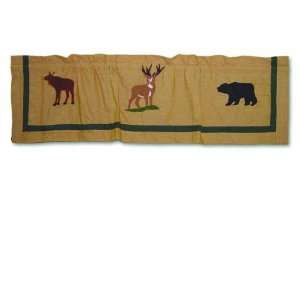 Magic Lodge Fever Curtain Valance, 54 Inch by 16 Inch Home & Kitchen