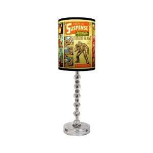 Iron Man/Covers Table Lamp With Acrylic Spheres Base