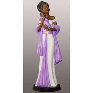 African American Figurine Family Gods Gift