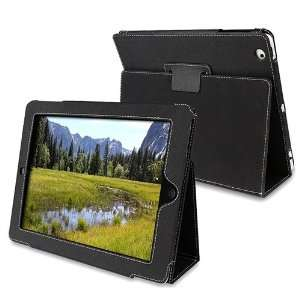 Compatible with iPad 2 Magnetic Leather Smart Cover Case