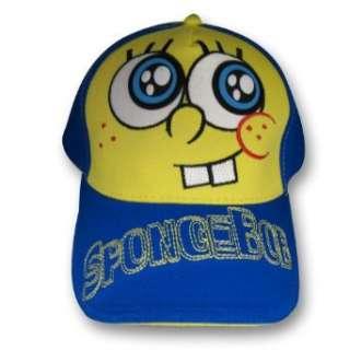 Spongebob Squarepants Boys Baseball Cap Hat Clothing