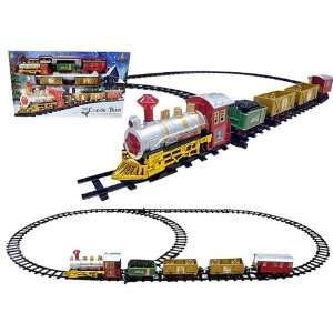 Battery Operated Christmas Toy Train Set Toys & Games