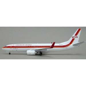 BBOX738JAK Blue Box 200 Garuda Indonesia B737 800 (W) Model Airplane