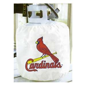 ST LOUIS CARDINALS Cards MLB Baseball BBQ GAS TANK Cannister Cover