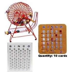Colorful Professional Ping Pong Bingo Set