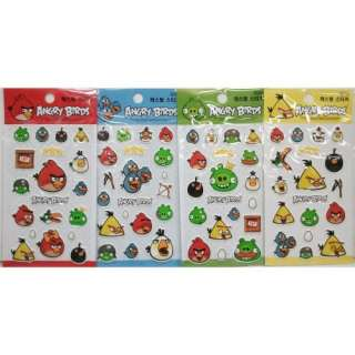 Rovio Angry Birds Assorted Stickers   1pc assorted color: Toys & Games