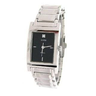 Womens G85926L Silver Stainless Steel Quartz Watch with Black Dial