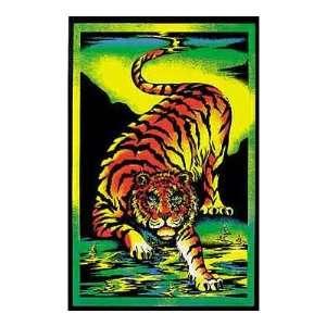 Tiger Animal Blacklight Poster Print, 22x34 Blacklight