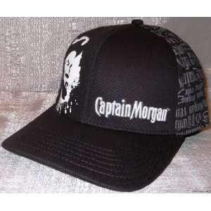 CAPTAIN MORGAN Embroidered Logo Flex Fit Baseball Cap/ HAT