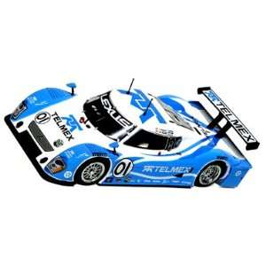 racing Champion 2008 lt. blue/white #01 Slot Car (S Toys & Games