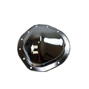 Chrome Steel Rear Differential Cover   12 Bolt w/ 8.75 Ring Gear