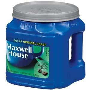 Maxwell House Coffee Original Roast Decaf Ground Medium   6 Pack