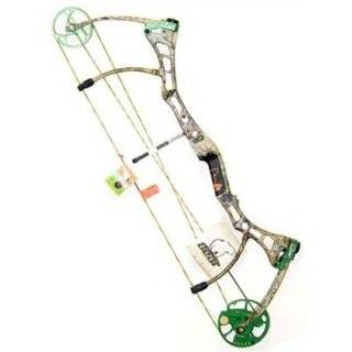 Fred Bear Archery: Truth II Compound Bow, Camo, Left Handed, 28, 60