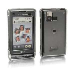 LG DARE VX 9700 Verizon Crystal CLEAR Hard Plastic Snap On