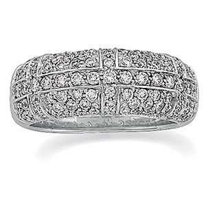 White Gold Diamond Anniversary Band Ring Diamond Designs Jewelry