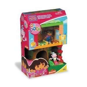 com Mega Bloks Dora Buildable Boots Treehouse Adventure Toys & Games